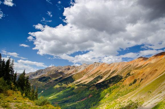 Ophir Pass, Fall View.