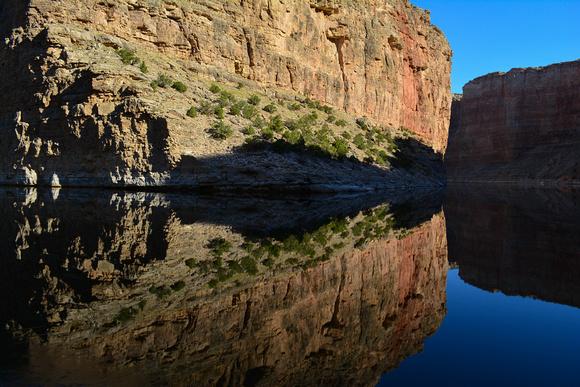 Bighorn Canyon Reflection