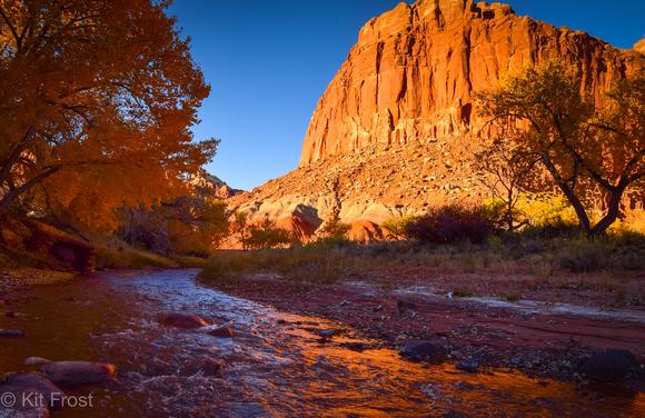 Sulphur Creek Reflection