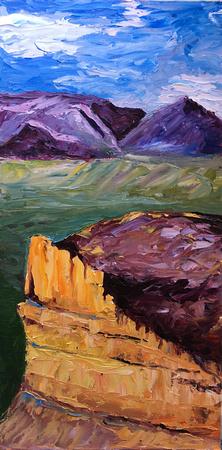 Oil Painting, Mesa Verde AIR